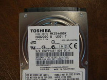 Toshiba MK2546GSX HDD2D90 B UK01 T 010 B0/LB013M 250gb  Sata (Donor for Parts) (FP1AST)