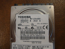 Toshiba MK1234GSX HDD2D31 B ZK01 S 010 A0/AH001A 120gb  Sata (Donor for Parts) 367K2586S