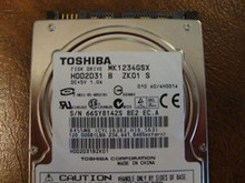 Toshiba MK1234GSX HDD2D31 B ZK01 S 010 A0/AH001A 120gb  Sata (Donor for Parts)