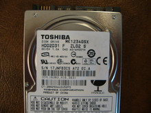 Toshiba MK1234GSX HDD2D31 F ZL02 S 040 A0/AH001H 120gb  Sata (Donor for Parts)