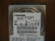 Toshiba MK1246GSX HDD2D91 B UK01 T  010 B0/LB213M 120gb  Sata (Donor for Parts) 28QDT3SHT