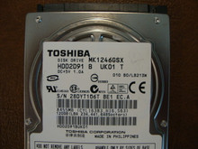Toshiba MK1246GSX HDD2D91 B UK01 T  010 B0/LB213M 120gb  Sata (Donor for Parts) 28DYT1Q6T
