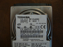Toshiba MK1246GSX HDD2D91 B UK01 T  010 B0/LB213M 120gb  Sata (Donor for Parts) 28QQTFVHT