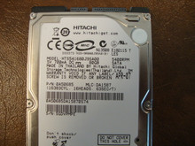 Hitachi HTS541680J9SA00 PN:0A50685 MLC DA1587 80gb Sata (Donor for Parts) SGDVPMPE