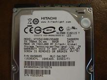 Hitachi HTS541680J9SA00 PN:0A50685 MLC DA1587 80gb Sata (Donor for Parts)