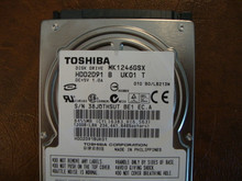 Toshiba MK1246GSX HDD2D91 B UK01 T  010 B0/LB213M 120gb  Sata (Donor for Parts) 38JQTHSUT