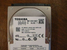 Toshiba MK1251GSY HDD2E23 D UL02 T FW:LD101D 120gb  Sata (Donor for Parts)