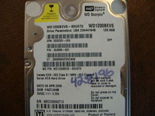 WD WD1200BEVS-60UST0 DCM:FACTJANB 120gb Sata (Donor for Parts)
