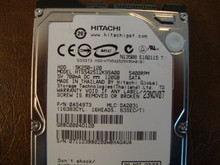 Hitachi HTS542512K9SA00 PN:0A54973 MLC:DA2031 120gb Sata (Donor for Parts) 071123BB0200WBHAG4VA