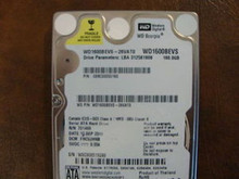 WD WD1600BEVS-26VAT0 DCM:FHCVJHNB 160gb Sata (Donor for Parts) (519249)