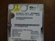 WD WD1600BEVS-26VAT0 DCM:FHCV2ABB 160gb Sata (Donor for Parts)