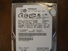 Hitachi HTS541616J9SA00 PN:0A50687 MLC:DA1587 160gb Sata (Donor for Parts)