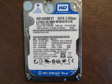 WD WD1600BEVT-08A23T1 DCM:HECTJANB FW:02.01A02 160gb Sata (Donor for Parts)