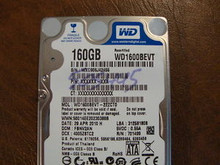 WD WD1600BEVT-22ZCT0 DCM:FBNV2AN 160gb Sata (Donor for Parts)