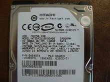 Hitachi HTS542516K9SA00 PN:0A54974 MLC:DA2031 160gb Sata  (Donor for Parts) (GH1439C)