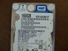 WD WD1600BEVT-22ZCT0 DCM:FBNV2BNB 160gb Sata (Donor for Parts)