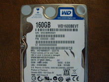 WD WD1600BEVT-22ZCT0 DCM:HBCTJHBB 160gb Sata (Donor for Parts)