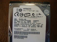 Hitachi HTS542516K9SA00 PN:0A54874 MLC:DA2010 160gb Sata  (Donor for Parts) WCCKW25G