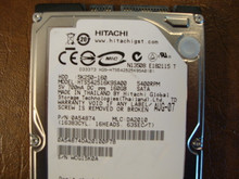 Hitachi HTS542516K9SA00 PN:0A54874 MLC:DA2010 160gb Sata  (Donor for Parts) WCG15K0A