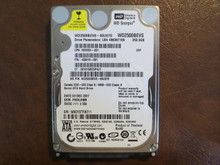 WD WD2500BEVS-60UST0 DCM:FHCVJHBB 250gb Sata (Donor for Parts)