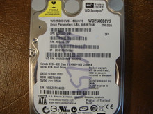 WD WD2500BEVS-60UST0 DCM:HBCTJHBB 250gb Sata (Donor for Parts)