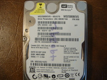 WD WD2500BEVS-60UST0 DCM:HBOTJHBB 250gb Sata (Donor for Parts)