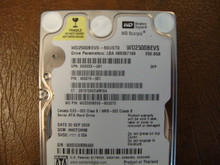 WD WD2500BEVS-60UST0 DCM:HHCT2HNB  250gb Sata (Donor for Parts)
