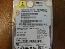 WD WD2500BEVS-60UST0 DCM:HHCTJHBB 250gb Sata (Donor for Parts)