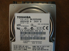 Toshiba MK2035GSS HDD2A30 B ZK01 S 020 A0/DK020M 200gb Sata (Donor for Parts) 87PNFHNHS
