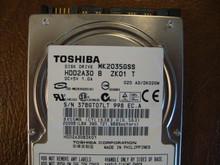Toshiba MK2035GSS HDD2A30 B ZK01 T 020 A0/DK020M 200gb Sata (Donor for Parts) 37BGT07LT