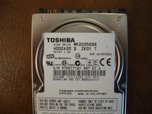 Toshiba MK2035GSS HDD2A30 S ZK01 T 020 A0/DK022A 200gb Sata (Donor for Parts) 97RDT71QT