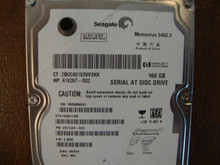 Seagate ST9160821AS 9S1134-022 FW:3.BHE WU 160gb Sata (Donor for Parts) 5MABN862
