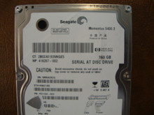 Seagate ST9160821AS 9S1134-022 FW:3.BHE WU 160gb Sata (Donor for Parts) 5MAA2X2G