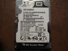 Western Digital WD1600BEKT-60A25T1 DCM:HHCTJHBB 160gb Sata WXH1A10V8534