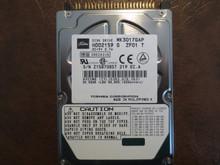 Toshiba MK3017GAP HDD2159 G ZF01 T 102 C0/A0.06H 30gb IDE/ATA Z15B7085T (T)
