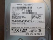Hitachi HDT725025VLA380 PN:0A33650 MLC:BA2163 250gb Sata