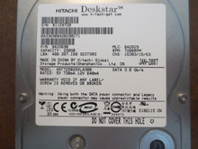 Hitachi HDT725025VLA380 PN:0A33690 MLC:BA2029 250gb Sata