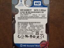 Western Digital WD1600BEVT-88ZCT0 DCM:FHNTJBBB 160gb Sata