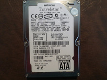 Hitachi HTS541040G9SA00 PN:0A27472 MLC:DA1519 FW:C60R 40gb Sata MPBBP0X2JEH5HM (T)
