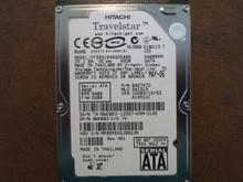 Hitachi HTS541040G9SA00 PN:0A27472 MLC:DA1519 FW:C60R 40gb Sata MPBBP0X2JB82JM (T)
