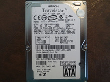 Hitachi HTS541040G9SA00 PN:0A27472 MLC:DA1519 FW:C60R 40gb Sata MPBBP0X2JDP8XM (T)