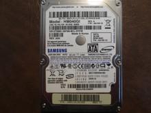 Samsung HM040GI REV.A FW:AA100-12 (M80S FS) 40gb Sata S0JUJ10LC35246 (T)