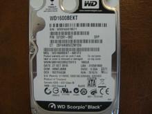WESTERN DIGITAL WD1600BEKT-66F3T2 DCM:HBNTJBBB SATA 160GB WX81AA018571