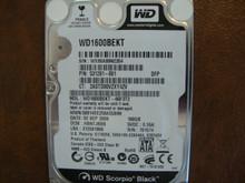 WESTERN DIGITAL WD1600BEKT-66F3T2 DCM:HBNTJBBB SATA 160GB