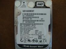 WESTERN DIGITAL WD1600BEKT-66F3T2 DCM:HACVJHNB SATA 160GB WXM309S56337