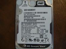 WESTERN DIGITAL WD1600BEKT-66F3T2 DCM:HHNTJHBB SATA 160GB