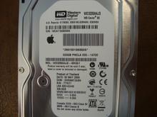 WESTERN DIGITAL WD3200AAJS-40H3A1 DCM:DHRNNT2ABN Apple 655-1472E 320GB SATA WCAT1A502454
