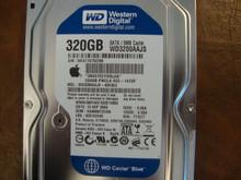 WESTERN DIGITAL WD3200AAJS-40H3A2 DCM:HANNNT2CHN Apple 655-1472F 320GB SATA WCAT1D702288