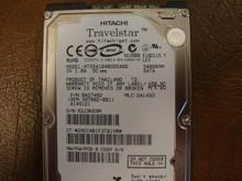 HITACHI HTS541040G9SA00 MLC:DA1493 PN:0A27482 40GB SATA