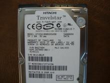 HITACHI HTS541080G9SA00 MLC:DA1493 PN:0A27484 80GB SATA XKJ14BLM